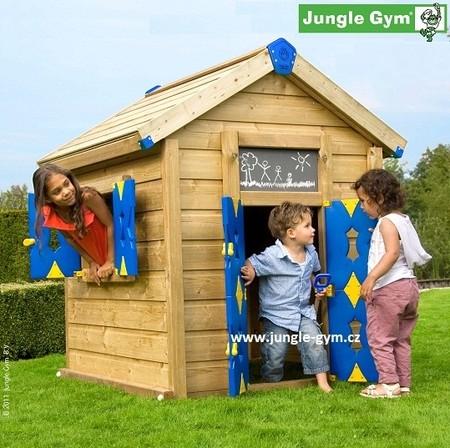 Dětský domek na zahradu Jungle Playhouse (bez terasy) - kompletní sestava