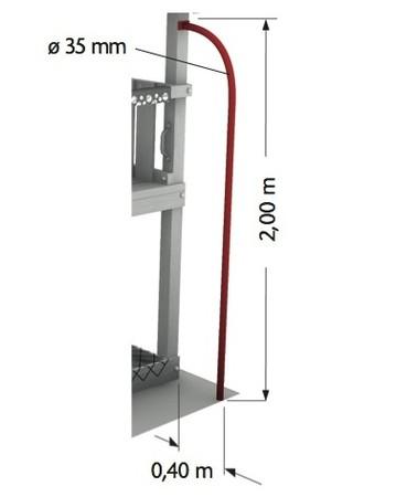 Šplhací tyč Firemans Pole