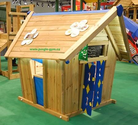 Dětský domek na zahradu Jungle Crazy (bez terasy) - kompletní sestava