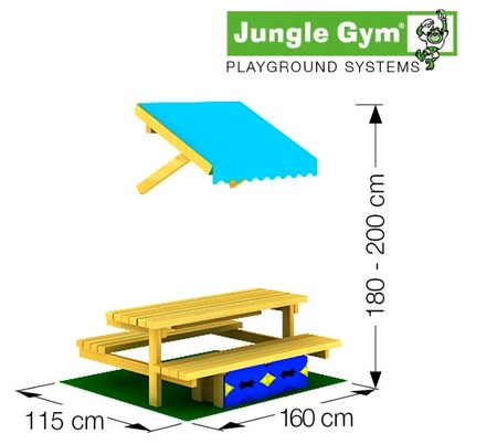 Mini Picnic Module 160cm - přídavný modul