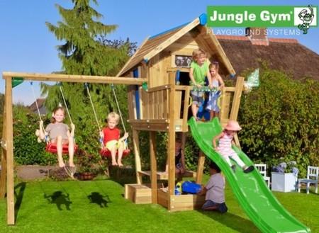 Jungle Crazy s terasou Crazy XL a skluzavkou - kompletní sestava