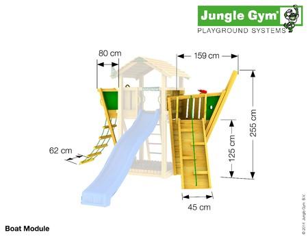 Boat Module - přídavný modul k dětskému hřišti