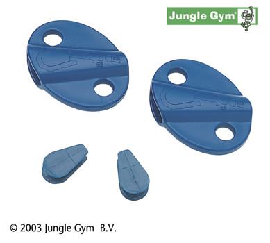 Lanové zámky modré