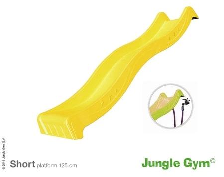 Jungle Gym skluzavka žlutá krátká s přípojkou pro vodu