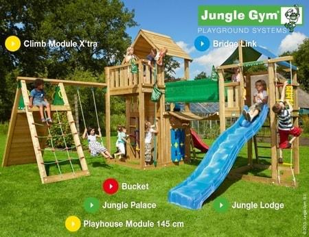 Hřiště Jungle Gym Paradise 2