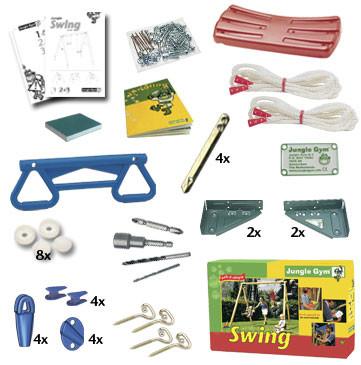 Houpačka Jungle Swing 250cm - kompletní sestava