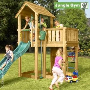 Dětské hřiště Jungle Mansion - kompletní sestava včetně skluzavky