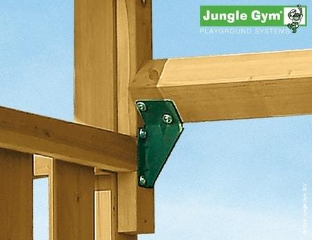 Hřiště Jungle Cubby s houpačkou 1-Swing X´tra - kompletní sestava včetně skluzavky